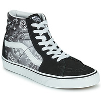 Shoes Women High top trainers Vans SK8 HI Black / White