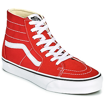 Shoes High top trainers Vans SK8 HI TAPERED Red