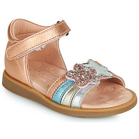Shoes Girl Sandals Acebo's 1228-RAME Bronze