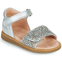 Shoes Girl Sandals Acebo's 1232-PLATA Silver