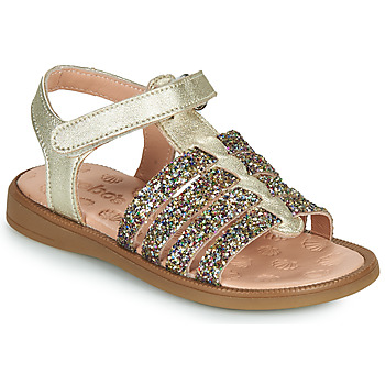 Shoes Girl Sandals Acebo's 5498GE-PLATINO-J Gold