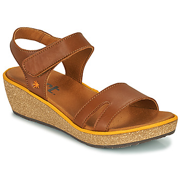 Shoes Women Sandals Art CAPRI Brown