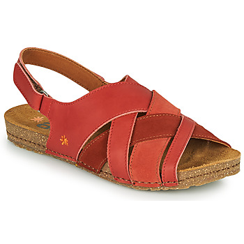 Shoes Women Sandals Art CRETA Coral