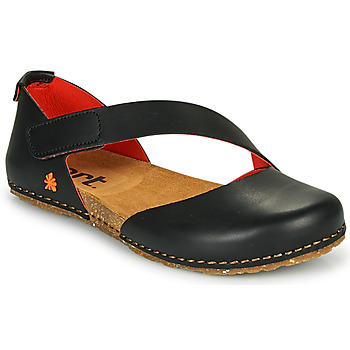 Shoes Women Ballerinas Art CRETA Black / Red