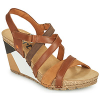 Shoes Women Sandals Art GUËLL Brown