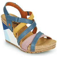 Shoes Women Sandals Art GUËLL Blue / Pink / Yellow