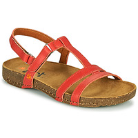 Shoes Women Sandals Art I BREATHE Coral