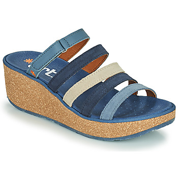 Shoes Women Mules Art PARMA Blue