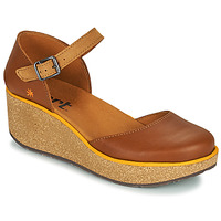 Shoes Women Mules Art PARMA Brown