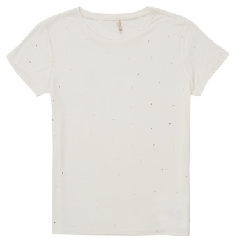 material Girl short-sleeved t-shirts Only KONMOULINS White