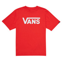 material Children short-sleeved t-shirts Vans VANS CLASSIC TEE Red