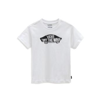 material Children short-sleeved t-shirts Vans VANS CLASSIC TEE White