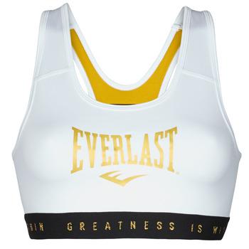 material Women Sport bras Everlast EVL BRAND BR White / Gold