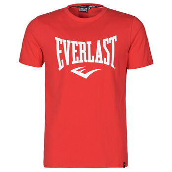 material Men short-sleeved t-shirts Everlast EVL- BASIC TEE-RUSSEL Red