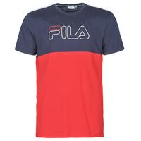 material Men short-sleeved t-shirts Fila JOPI Red / Marine