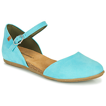 Shoes Women Ballerinas El Naturalista STELLA Turquoise