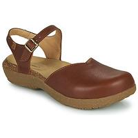 Shoes Women Sandals El Naturalista WAKATIWAI Brown