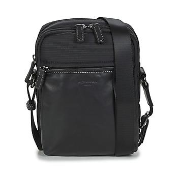 Bags Men Pouches / Clutches Hexagona TRAVEL Black
