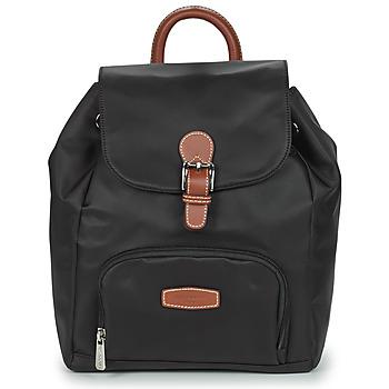Bags Women Rucksacks Hexagona DIVERSITE Black / Brown