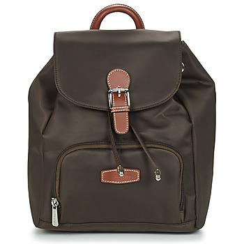 Bags Women Rucksacks Hexagona DIVERSITE Brown / Dark