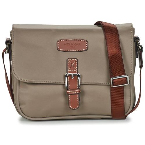 Bags Women Shoulder bags Hexagona DIVERSITE Taupe