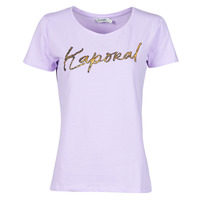 material Women short-sleeved t-shirts Kaporal PETER Pink