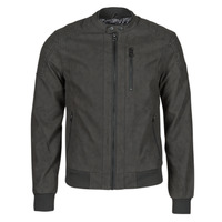 material Men Leather jackets / Imitation le Kaporal KYRO Black