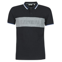 material Men short-sleeved polo shirts Kaporal DIAM Black