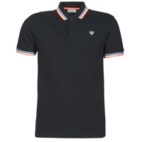 material Men short-sleeved polo shirts Kaporal RAYOC Black