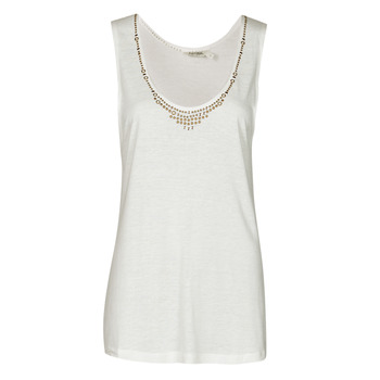 material Women Tops / Sleeveless T-shirts Kaporal PAMPI White