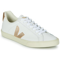 Shoes Women Low top trainers Veja ESPLAR LOGO White / Gold