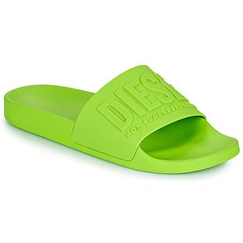 Shoes Men Sliders Diesel AFRENTY Green
