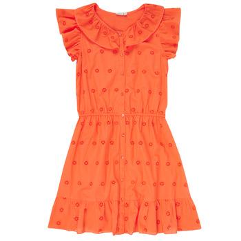 material Girl Short Dresses Name it NKFDORITA Coral