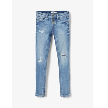 material Boy slim jeans Name it NKMPETE Blue