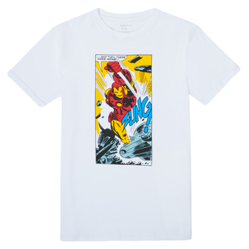 material Boy short-sleeved t-shirts Name it MARVEL White