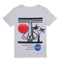 material Boy short-sleeved t-shirts Name it NASA White