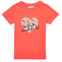 material Girl short-sleeved t-shirts Name it NMFDELFIN TOP Coral