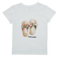 material Girl short-sleeved t-shirts Name it NMFFISUMMER White