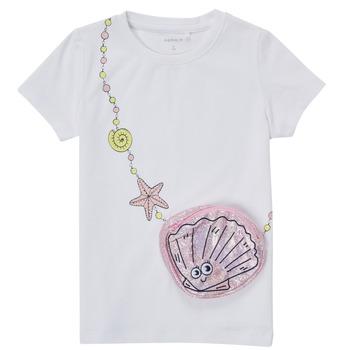 material Girl short-sleeved t-shirts Name it NMFFEFA White
