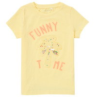 material Girl short-sleeved t-shirts Name it NMFFEFA Yellow