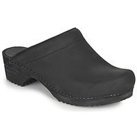 Shoes Women Clogs Sanita CHRISSY Black