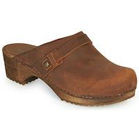 Shoes Women Clogs Sanita URSANA Brown