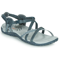 Shoes Women Sports sandals Merrell TERRAN LATTICE II Blue