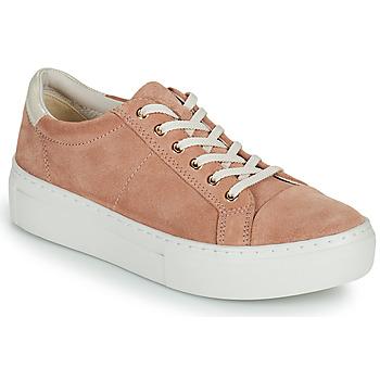 Shoes Women Low top trainers Vagabond Shoemakers ZOE PLATFORM Pink