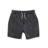 material Boy Shorts / Bermudas Quiksilver TAXER WS Black