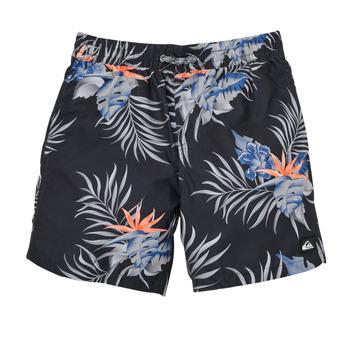 material Boy Trunks / Swim shorts Quiksilver PARADISE EXPRESS 15 Black