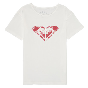 material Girl short-sleeved t-shirts Roxy DAY AND NIGHT PRINT White