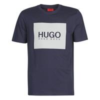 material Men short-sleeved t-shirts HUGO DOLIVE Marine