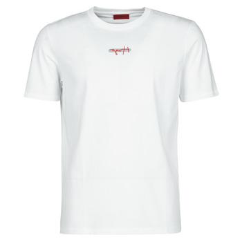 material Men short-sleeved t-shirts HUGO DURNED White