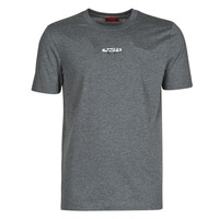 material Men short-sleeved t-shirts HUGO DURNED Grey